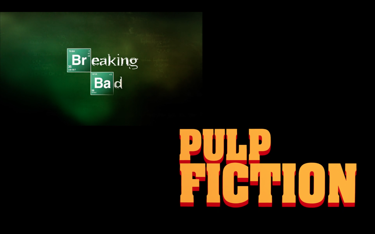 pulp fiction : breaking bad